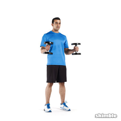 Arms and shoulders w/ upper body circuit (+ speed 2.0)