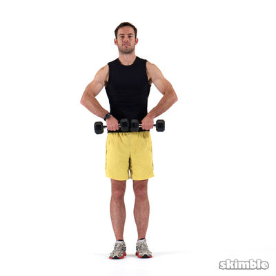 Upper Body dumbells