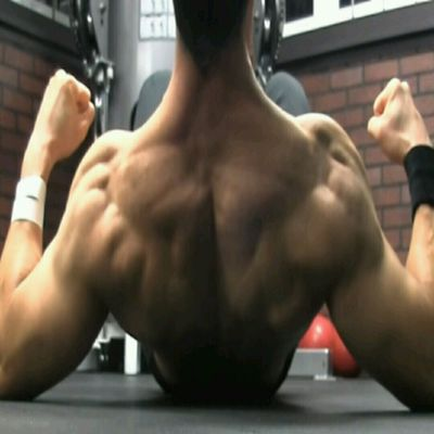 Upper Back - Elbow Push On Ground