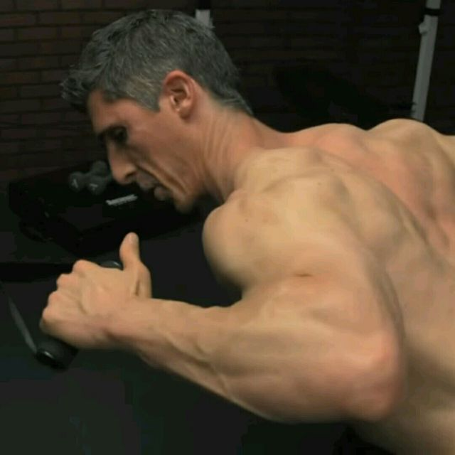 How to do: Upper Back - Bentover Rhomboid Row - Step 1