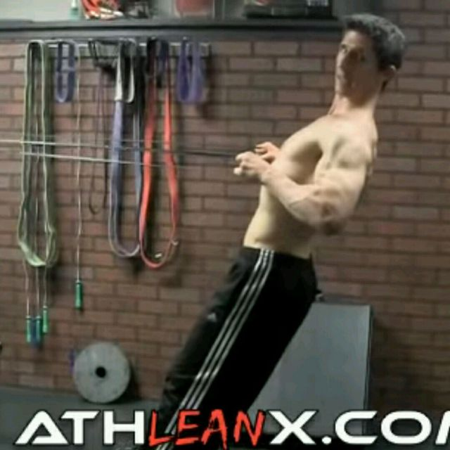 How to do: Upper Back - Bentover Rhomboid Row with Extension - Step 2