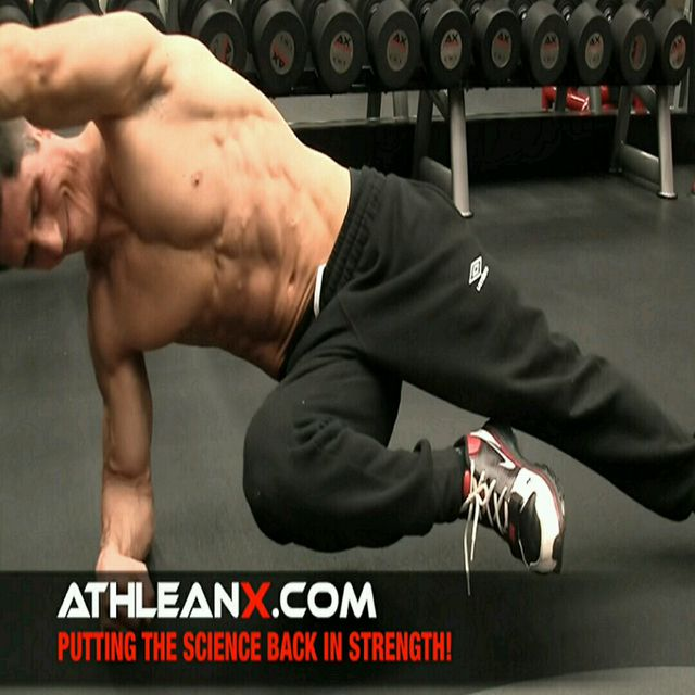 How to do: Plank - Side Plank - Lower Leg Draw - Step 1
