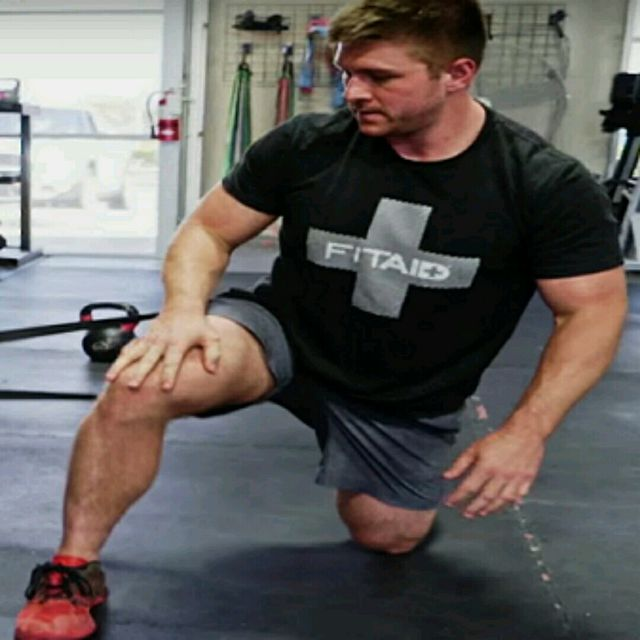 How to do: Hip Mobility - Lateral Band - Step 1
