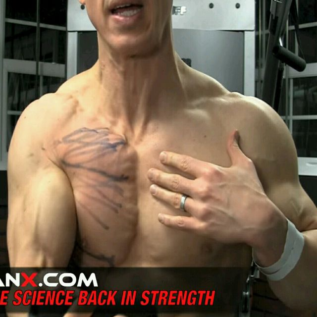 How to do: Chest - Upper Pec - Step 1