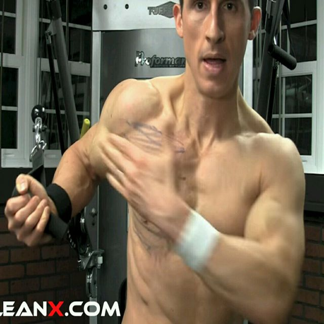How to do: Chest - Lower Pec - Step 1