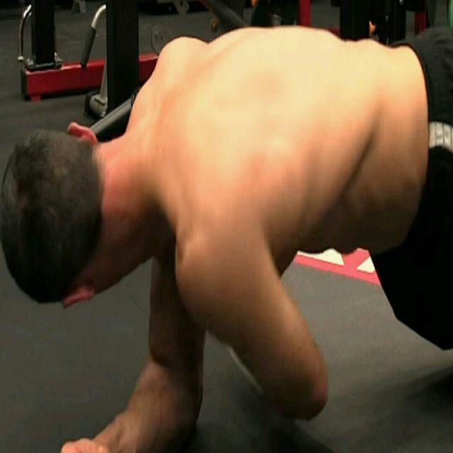 How to do: Abd - Thread the Needle - Step 1
