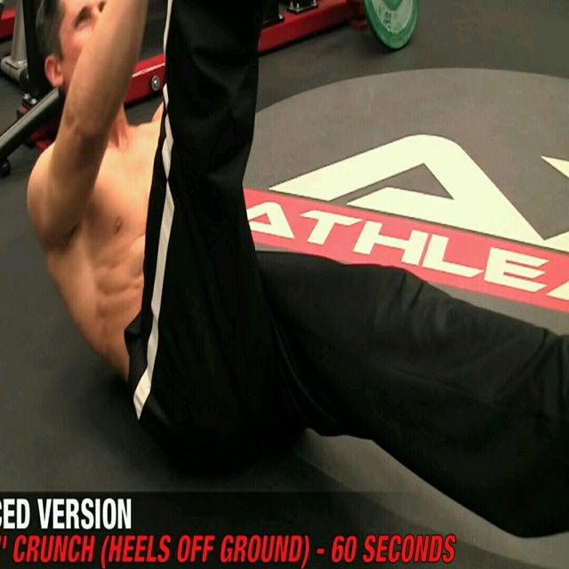 How to do: Abs - The 21 Crunch - Step 2