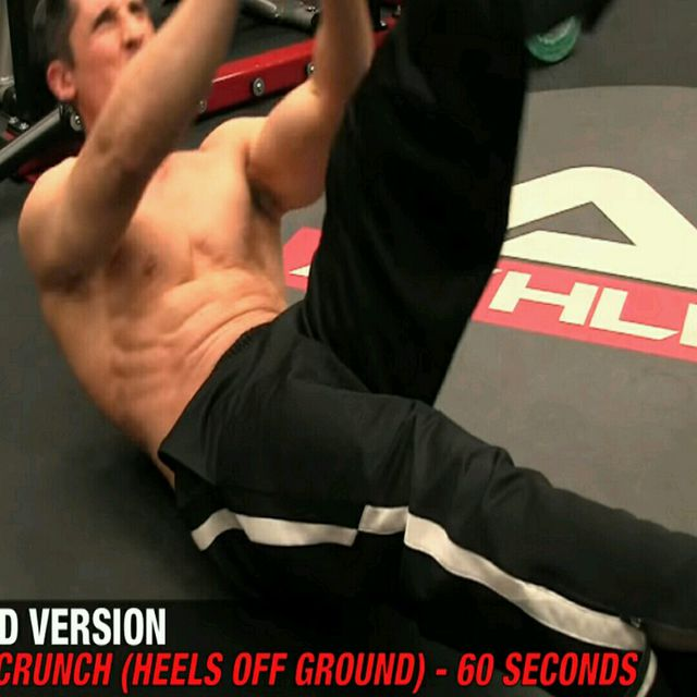 How to do: Abs - The 21 Crunch - Step 3