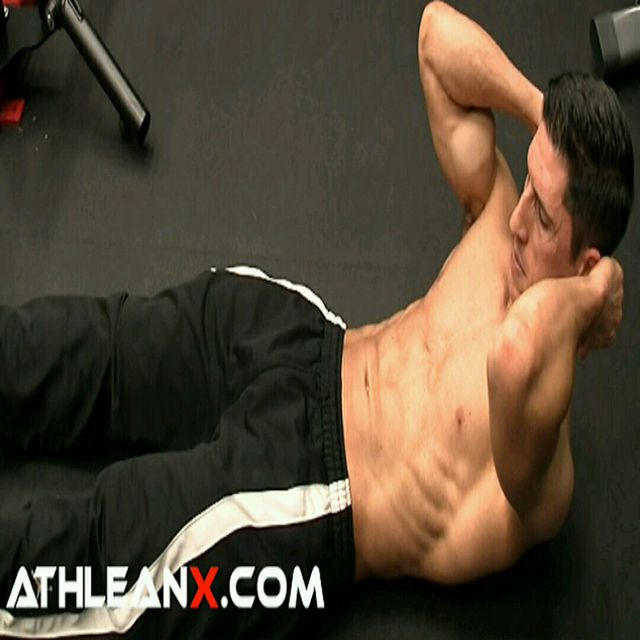 How to do: Abs - Activation - Crunch Holds - Step 1