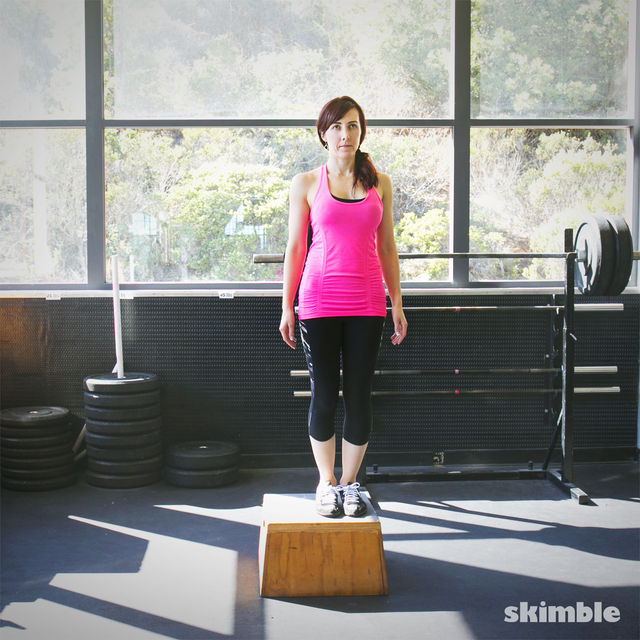 How to do: Lateral Step Ups - Step 3