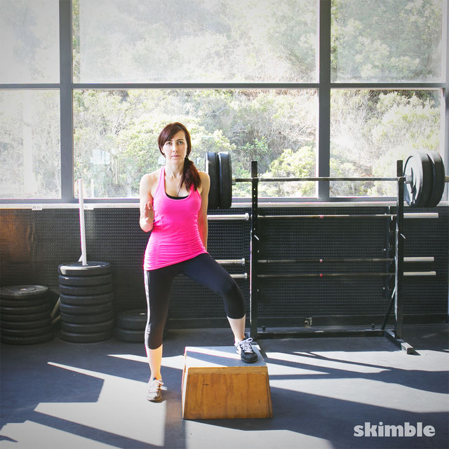 How to do: Lateral Step Ups - Step 4