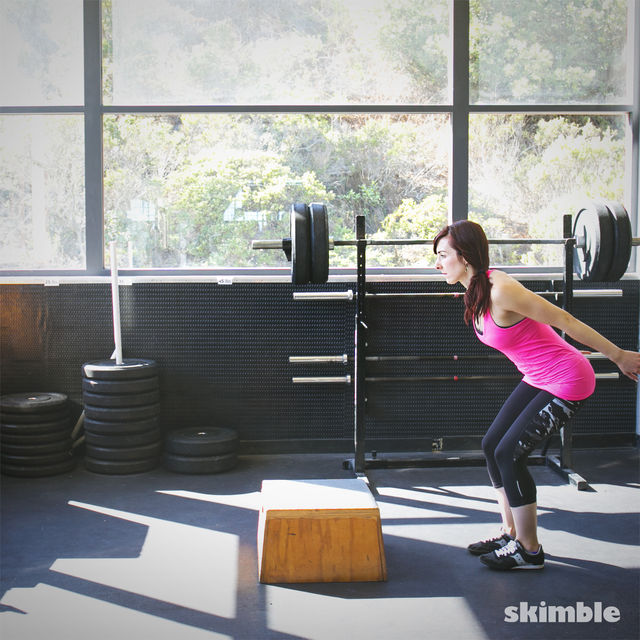 How to do: Front Hop Overs - Step 2