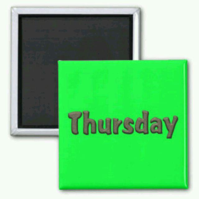 W1 - Thursday