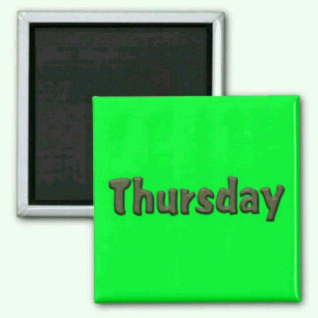 W2 – Thursday