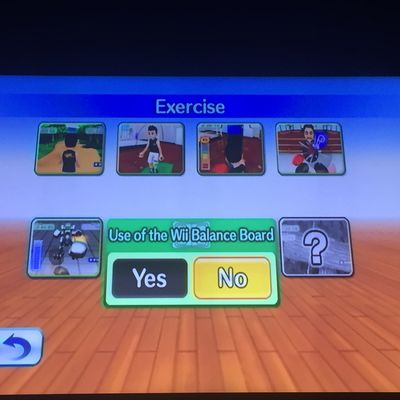 Wii Cardio Workout