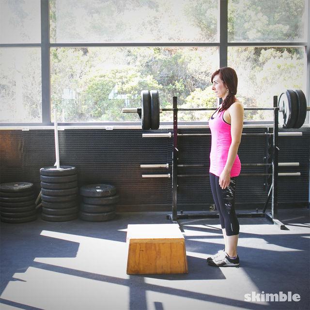How to do: Power Step Ups - Step 1