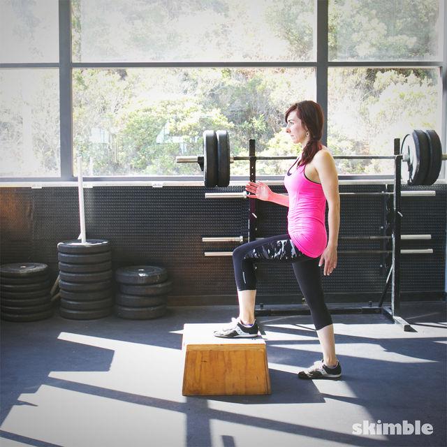 How to do: Power Step Ups - Step 2
