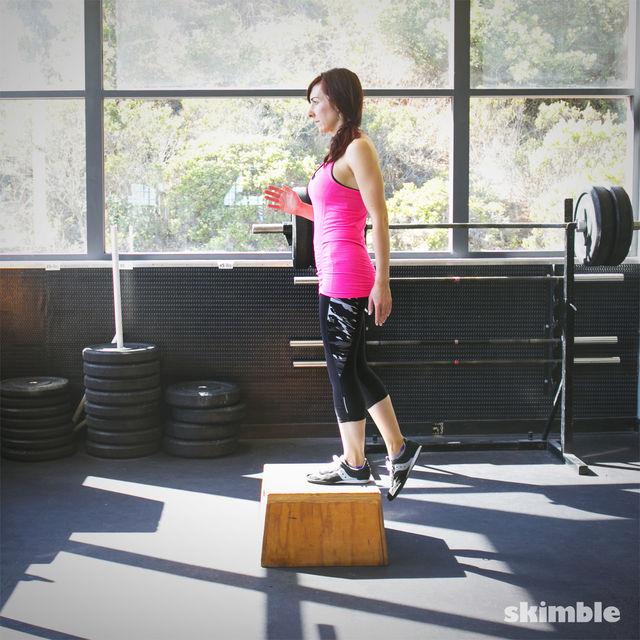 How to do: Power Step Ups - Step 3