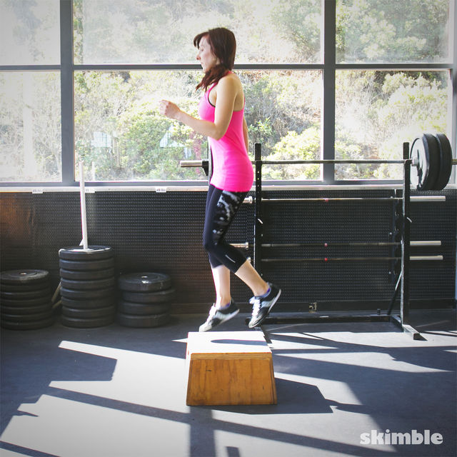 How to do: Power Step Ups - Step 4