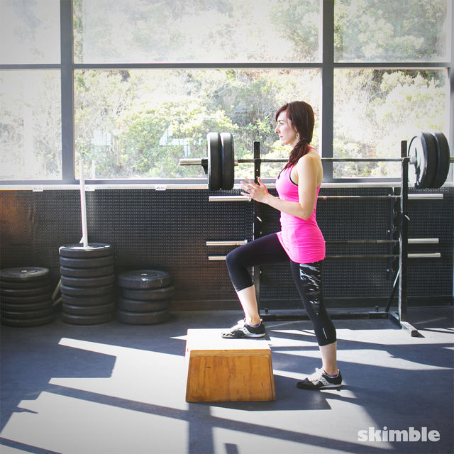How to do: Power Step Ups - Step 6