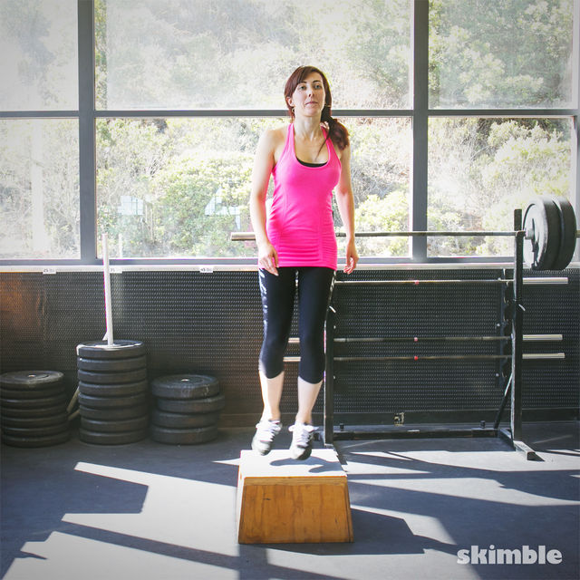 How to do: Lateral Power Step Ups - Step 4
