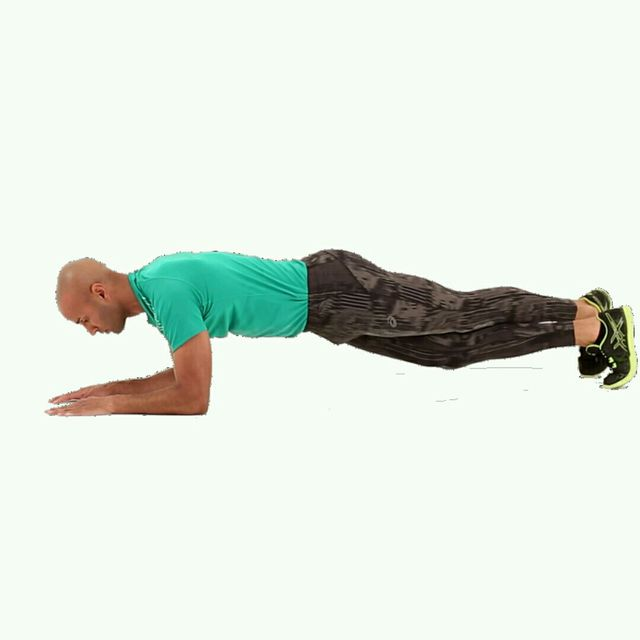 How to do: IT Plank Leg Crossover - Step 2