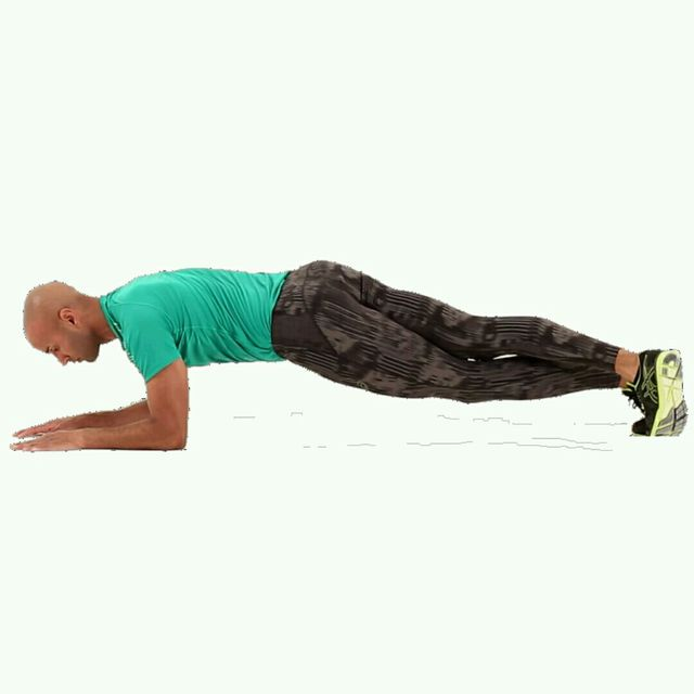 How to do: IT Plank Leg Crossover - Step 4