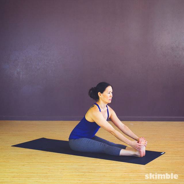 How to do: Seated Leg Stretch - Step 2