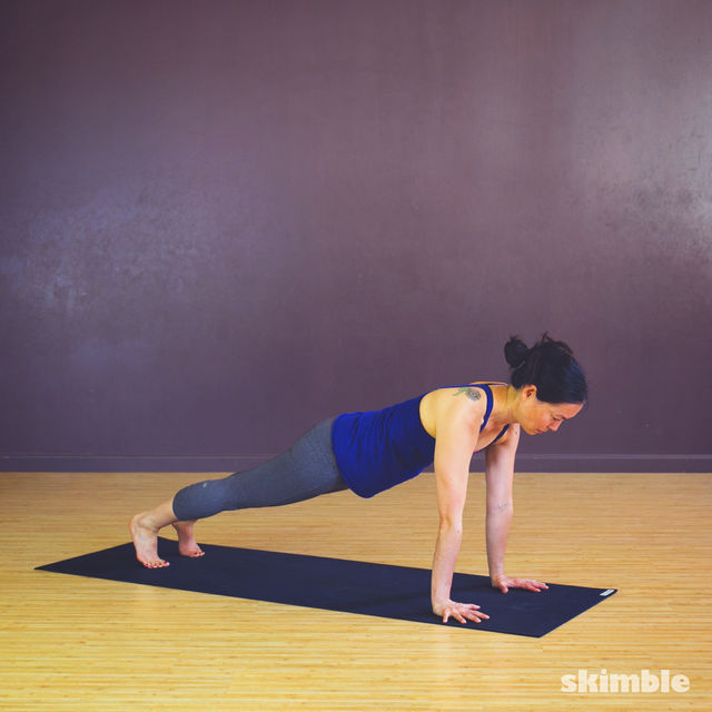 How to do: Chaturanga - Step 1