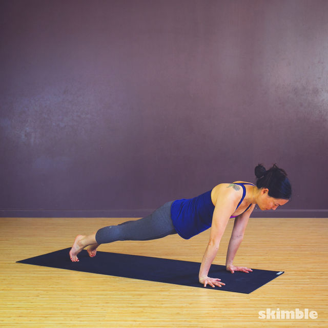 How to do: Chaturanga - Step 2