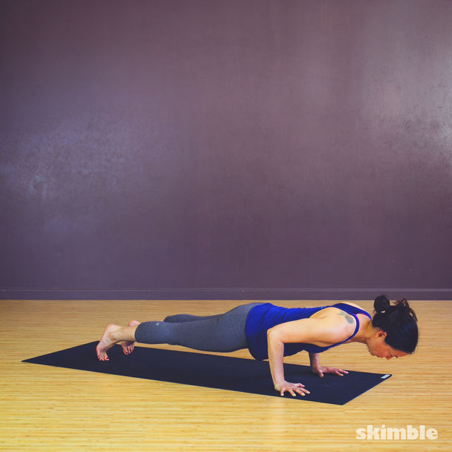 How to do: Chaturanga - Step 3