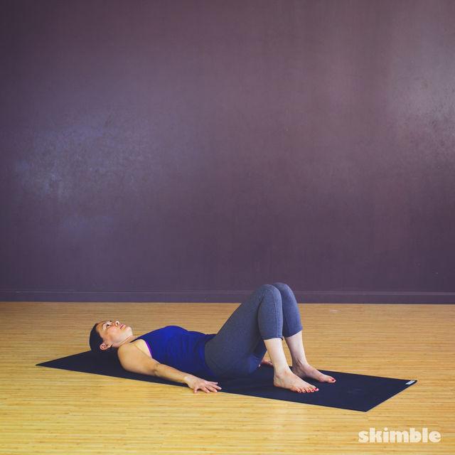 How to do: Pretzel Stretches - Step 1