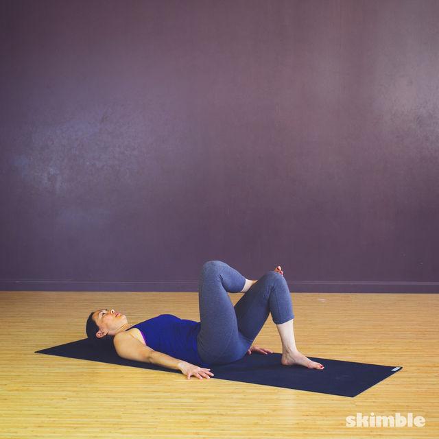 How to do: Pretzel Stretches - Step 2