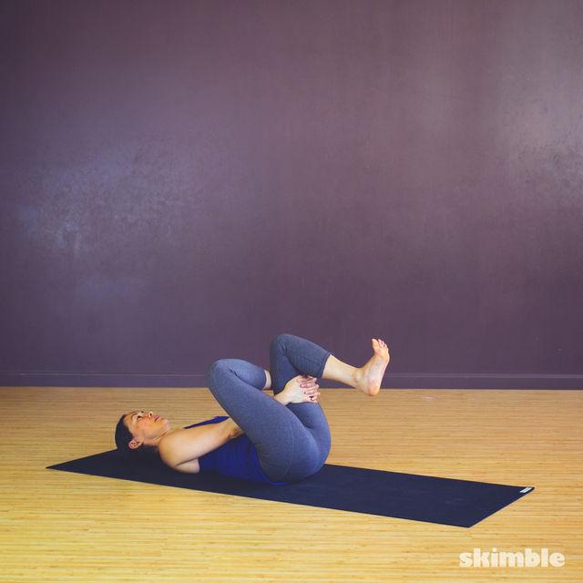 How to do: Pretzel Stretches - Step 3