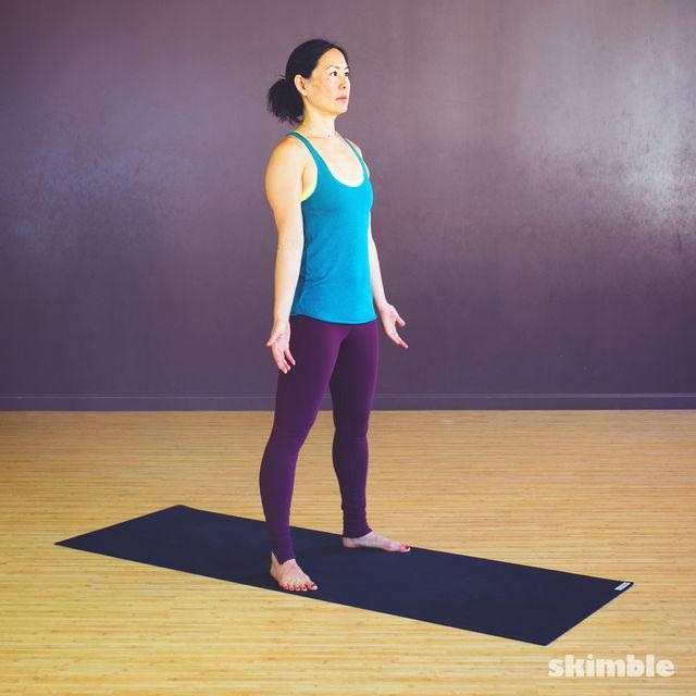 How to do: Garland Pose - Step 1