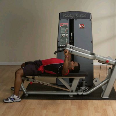Machine Flat Bench Press