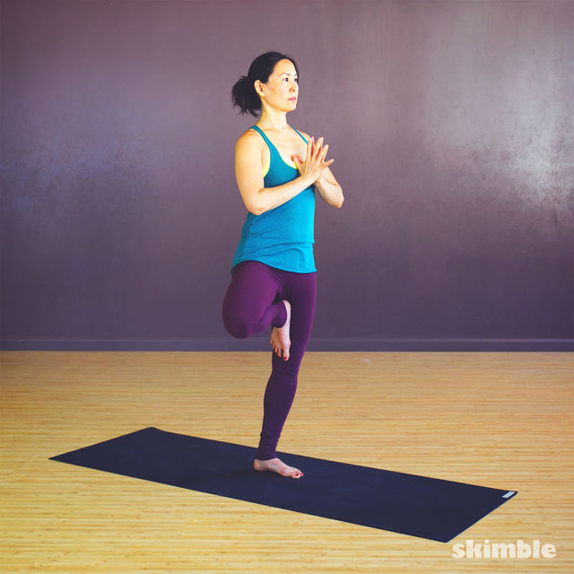 How to do: Tree Pose - Step 2