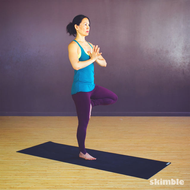 How to do: Tree Pose - Step 5