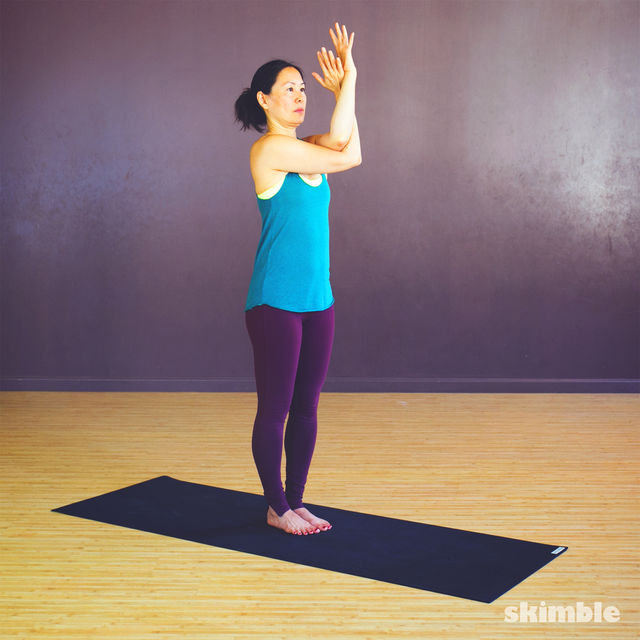 How to do: Twisted Arm & Shoulder Stretches - Step 2