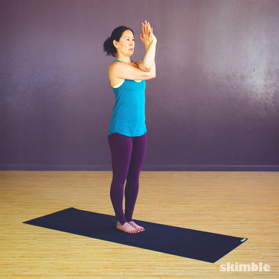 Twisted Arm & Shoulder Stretches