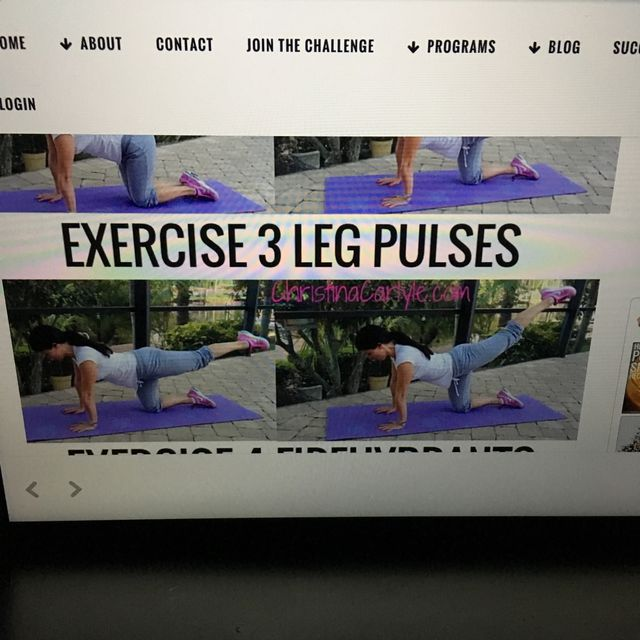How to do: Leg Pulses - Step 1