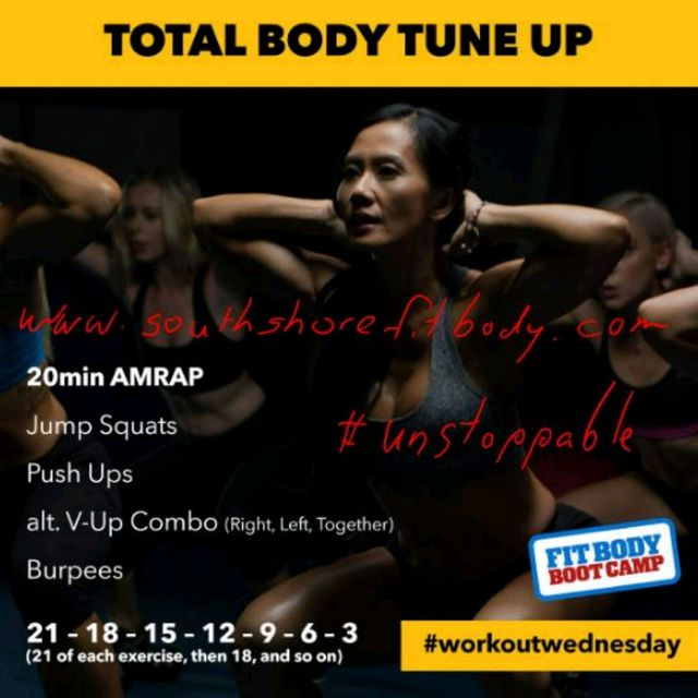 Total Body Tune Up (AMRAP)