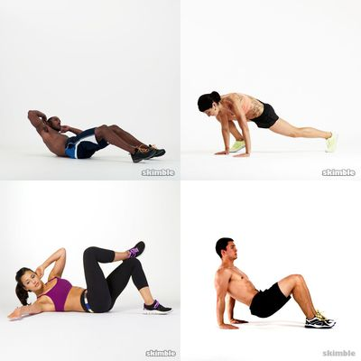 My abs workout