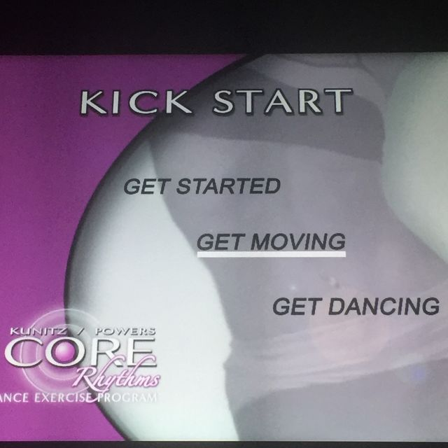 How to do: Get Moving - Step 1