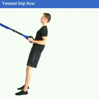 Twisted Grip Row TRX