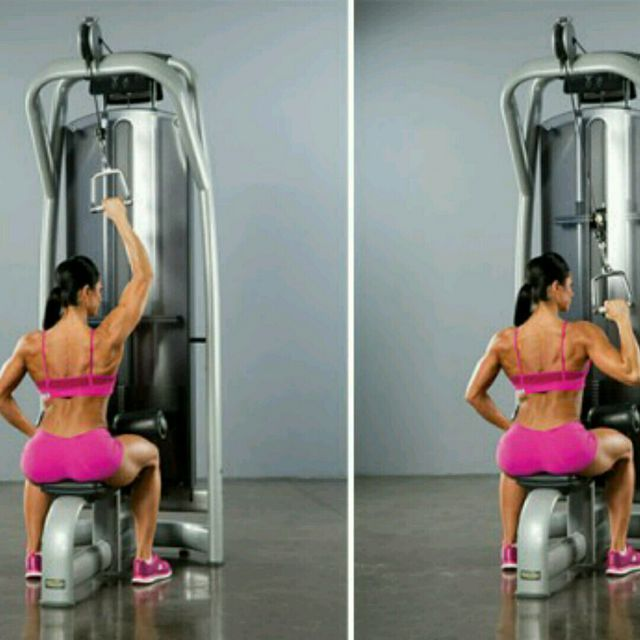 Single Arm Lat Pulldown Exercise How To Workout