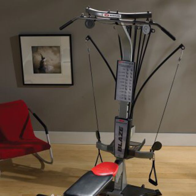 Arms & Core Day - Home Gym - Bowflex, Dumbbells, Resistance Bands
