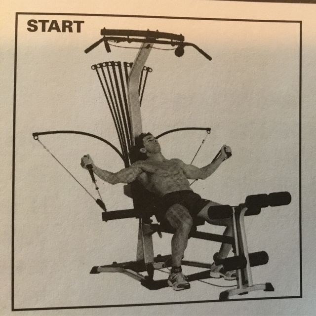 How to do: Chest Fly - Step 1
