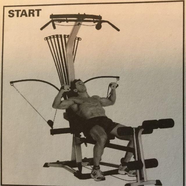 How to do: Bowflex Bench Press - Step 1