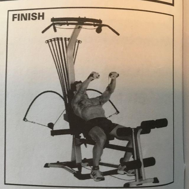 How to do: Bowflex Bench Press - Step 2